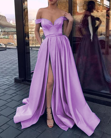 Image of Lilac Prom Dresses 2020
