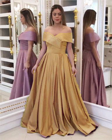 Image of Gold Prom Dresses 2020