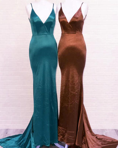 Image of Simple Bridesmaid Dresses