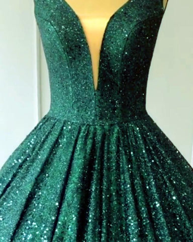 Image of Sparkle Sequin Quinceanera Dresses Ball Gowns
