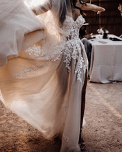 Load image into Gallery viewer, Boho Wedding Dress 2020