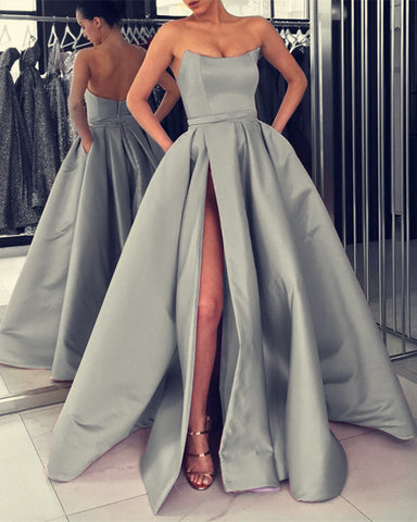 Silver Prom Dresses 2020