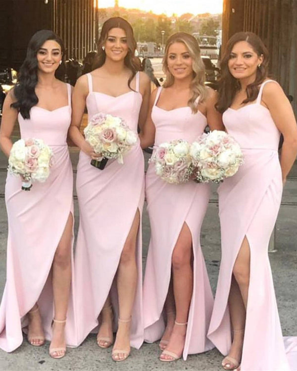 Sexy Long Bridesmaid Dresses 2020