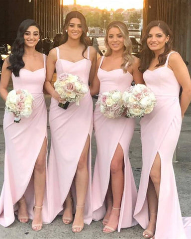 Image of Sexy Long Bridesmaid Dresses 2020
