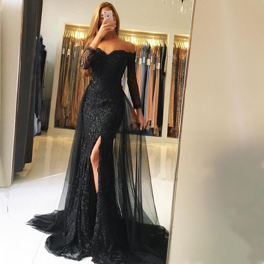 black-formal-gowns