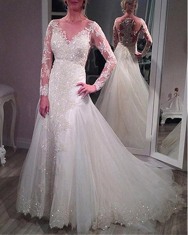 Image of Vintage-Wedding-Dresses-2018