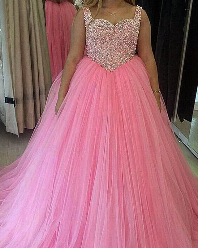 Baby-Pink-Quinceanera-Dresses