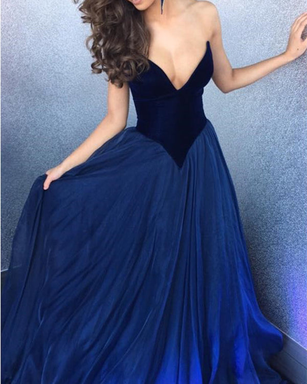 Navy-Blue-Formal-Dresses