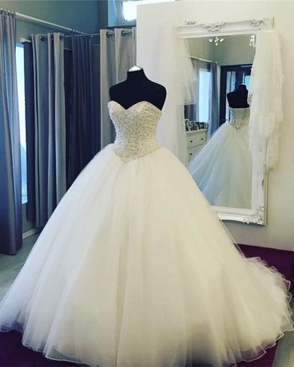Pearl Wedding Dresses