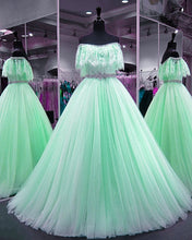 Afbeelding in Gallery-weergave laden, mint-green-prom-dress