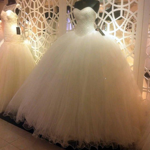 Image of Sweetheart-Ball-Gowns-Wedding-Dress