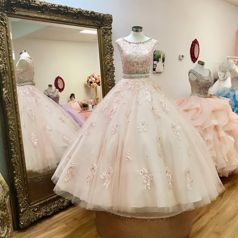 two-piece-quinceanera-dresses