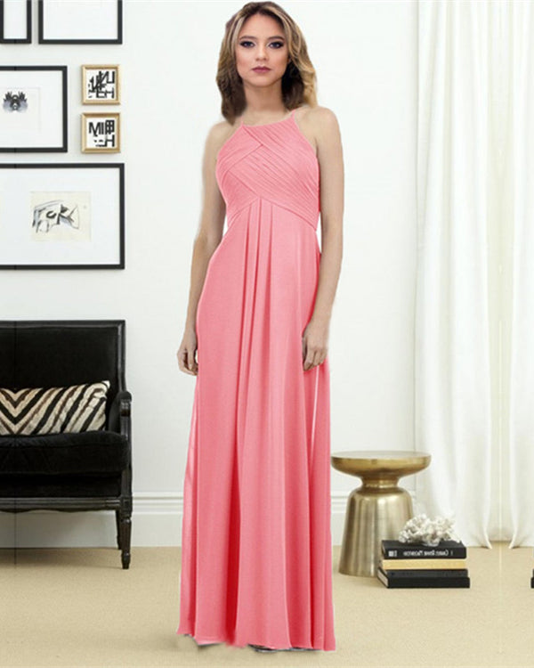 Watermelon-Bridesmaid-Dresses