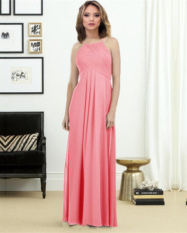Image of Watermelon-Bridesmaid-Dresses