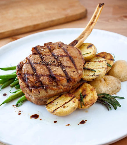6/12 oz. U.S.D.A. Frenched Veal Chop