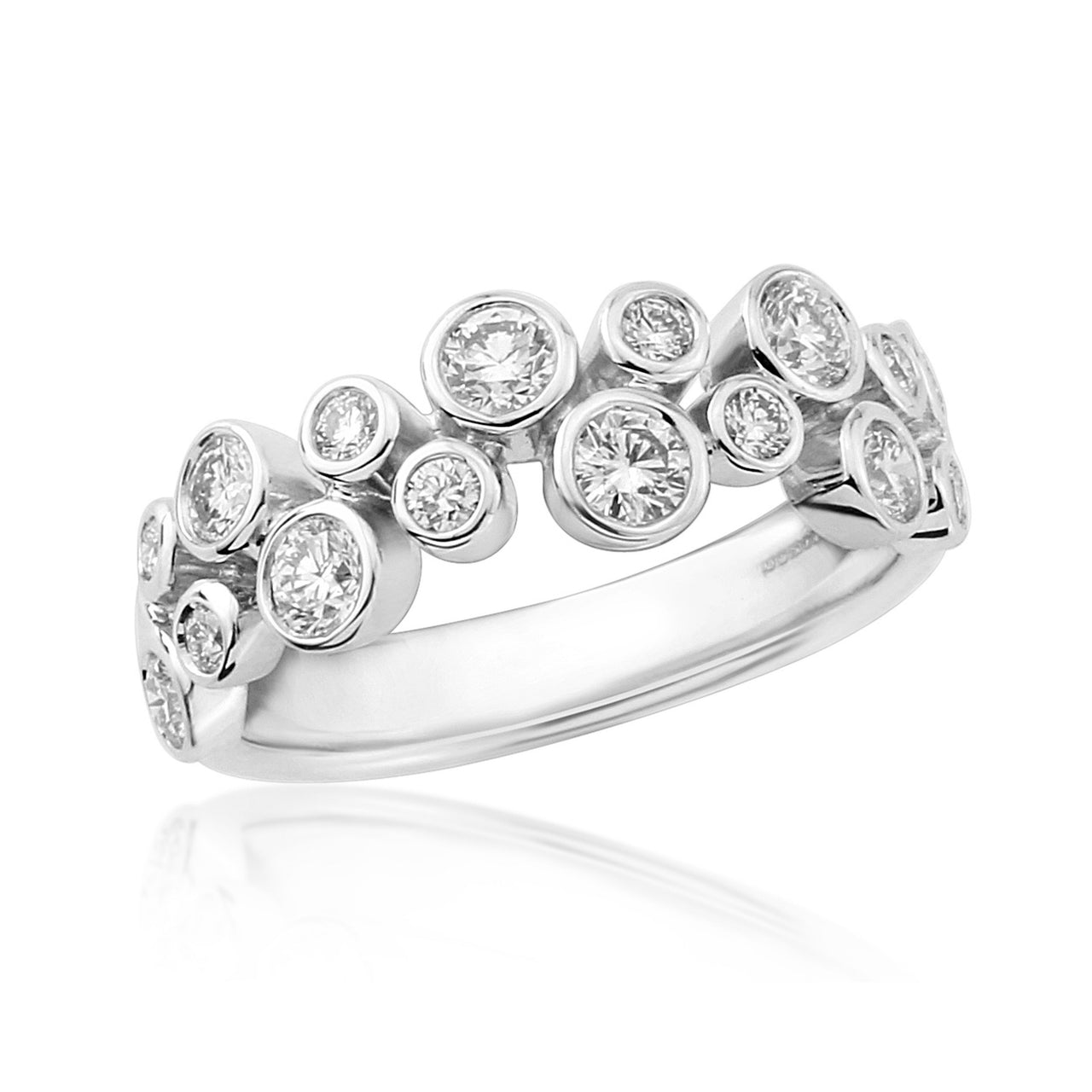 Diamond Burst Ring