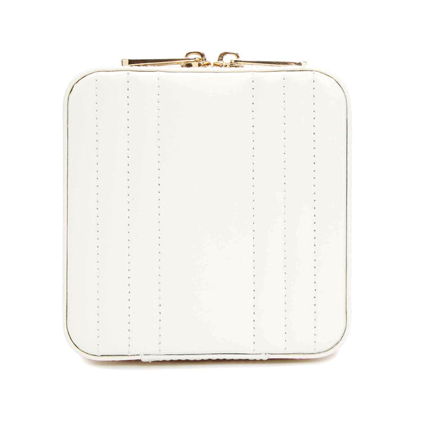 Maria Small Zip Case White