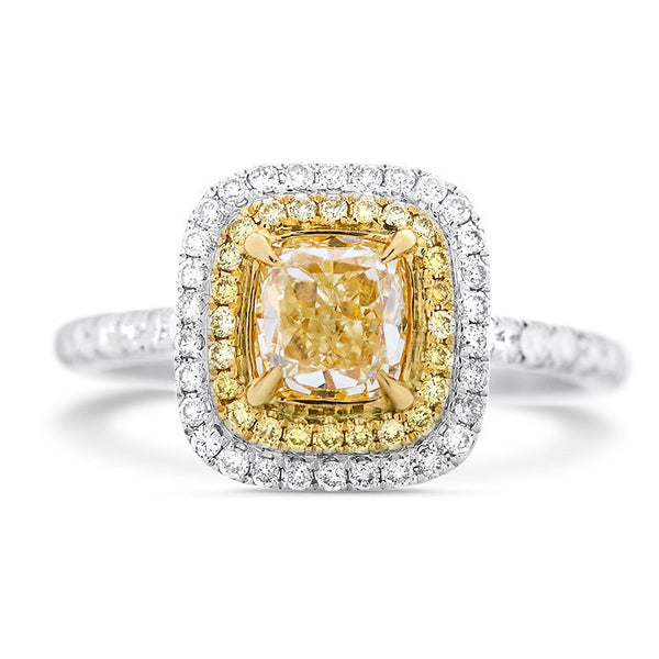 Engagement Rings Dublin Yellow Diamonds