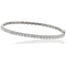 Diamond Claw Set Bangle