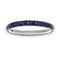 Comet Sapphire Eternity Band