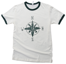 Tree Compass Mens Ringer Tee