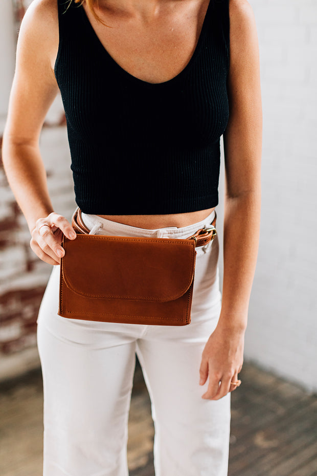 Belt Bag-Caramel