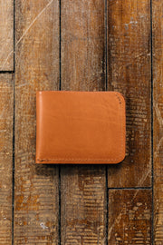 Billfold Wallet-British Tan