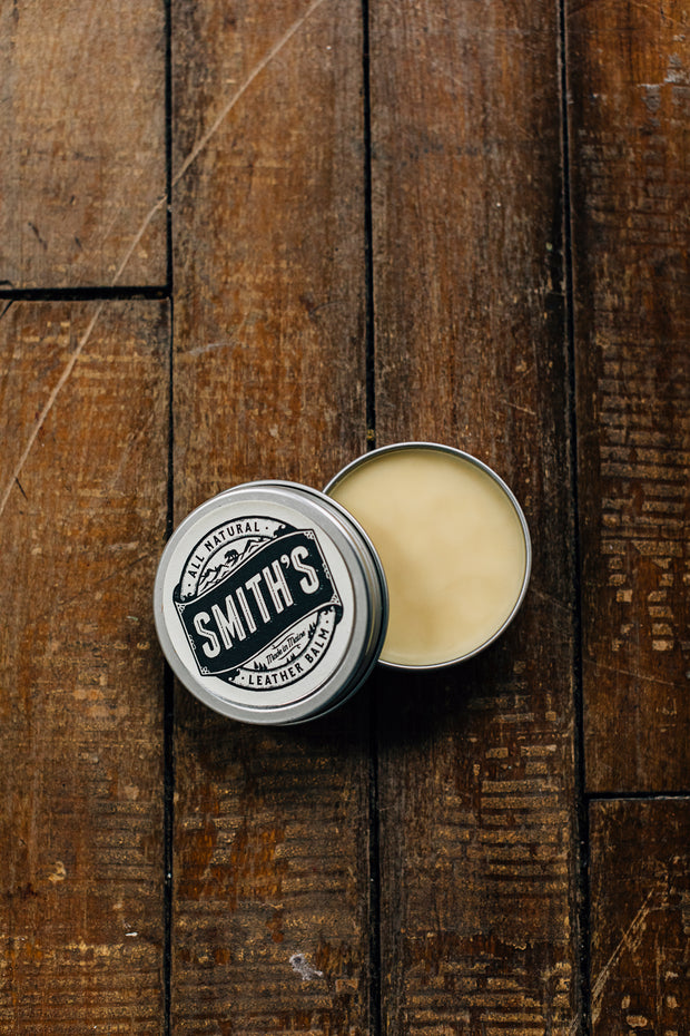 Leather Balm Tin