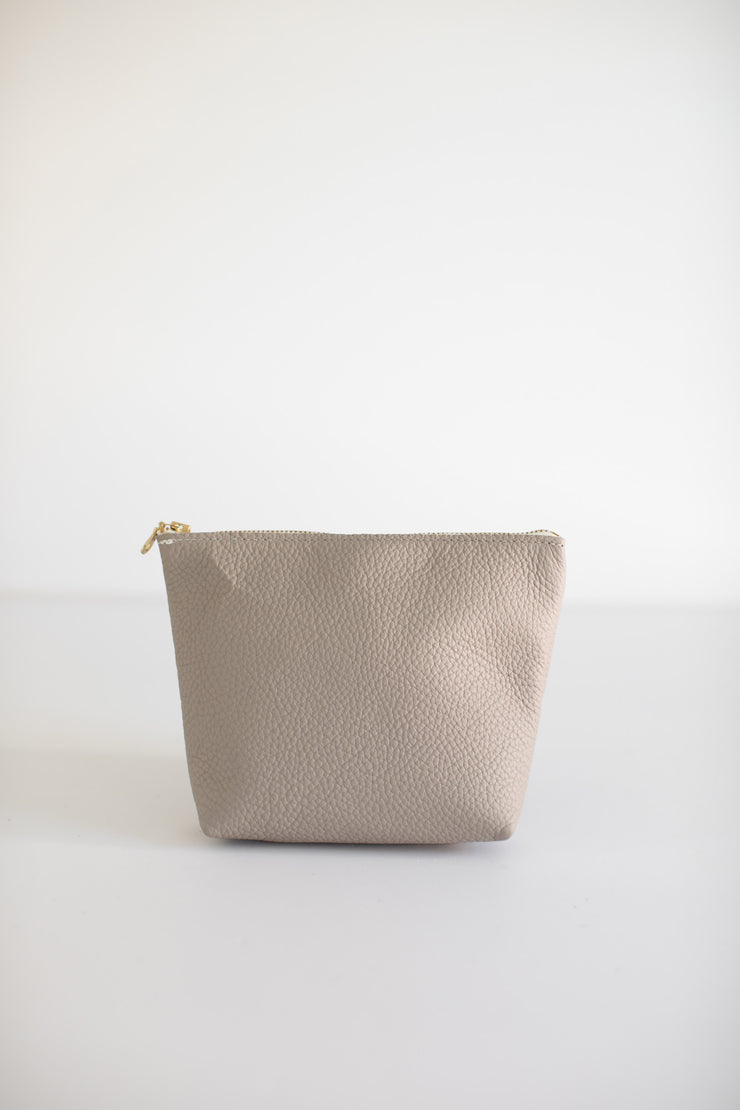 Small Makeup Bag-Light Grey