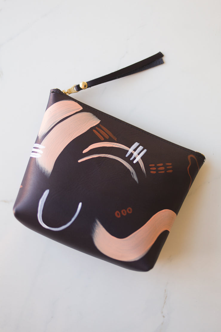 Small Makeup Bags-Painted by Laura Supnik