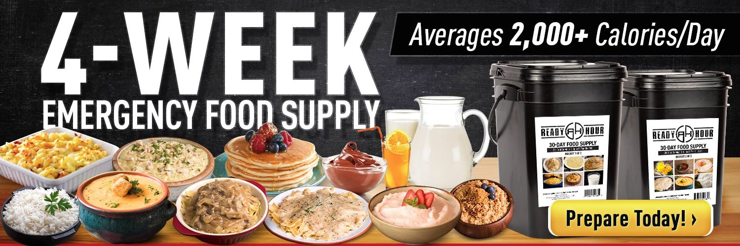 SFG Wellness - My Patriot Supply | 4 Week Food Supply