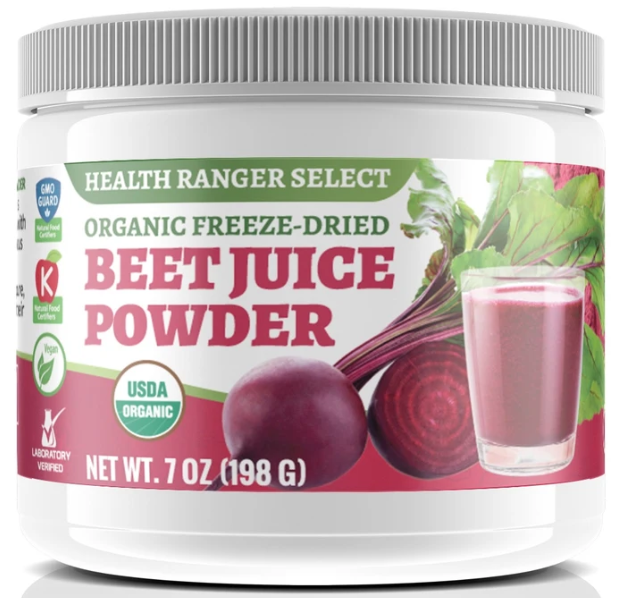 Beet Juice Powder - SFG Wellness | Health Ranger Store