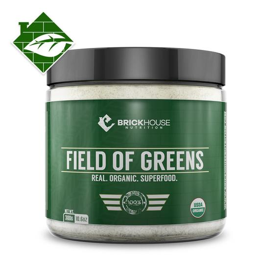 Field of Greens - BrickHouse Nutrition - Sam's Fitness Goods