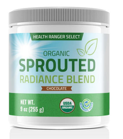 Sprouted Radiance Blend - SFG Wellness - Health Ranger Store