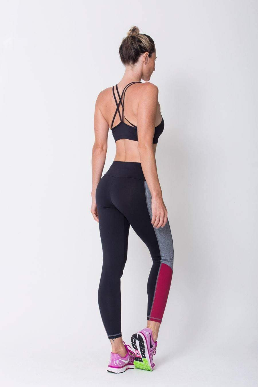 Black Contrast Legging - Sam's Fitness Goods