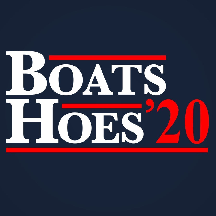 BOATS AND HOES 2020 Election Tank Top - Sam's Fitness Goods