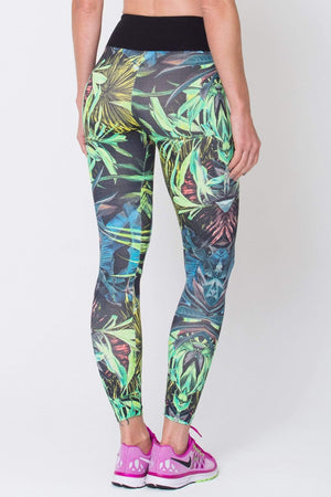 Botanical Print Leggings - Sam's Fitness Goods