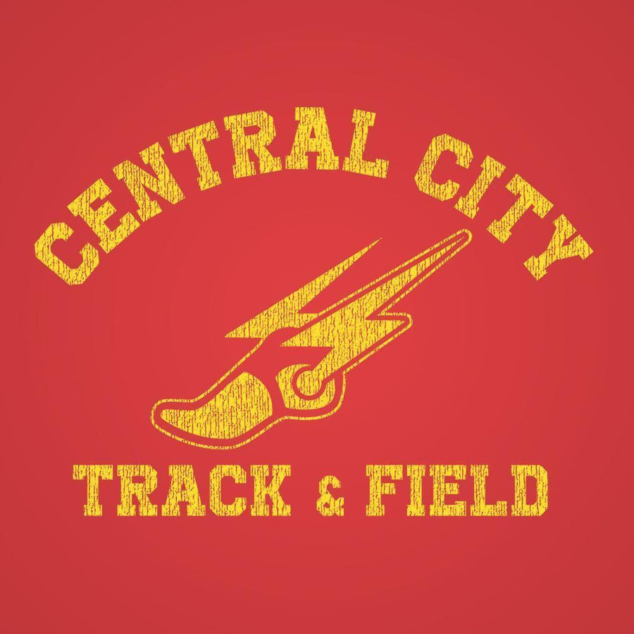 Central City Track Team Racer Back Tri-Blend Tank Top - Sam's Fitness Goods