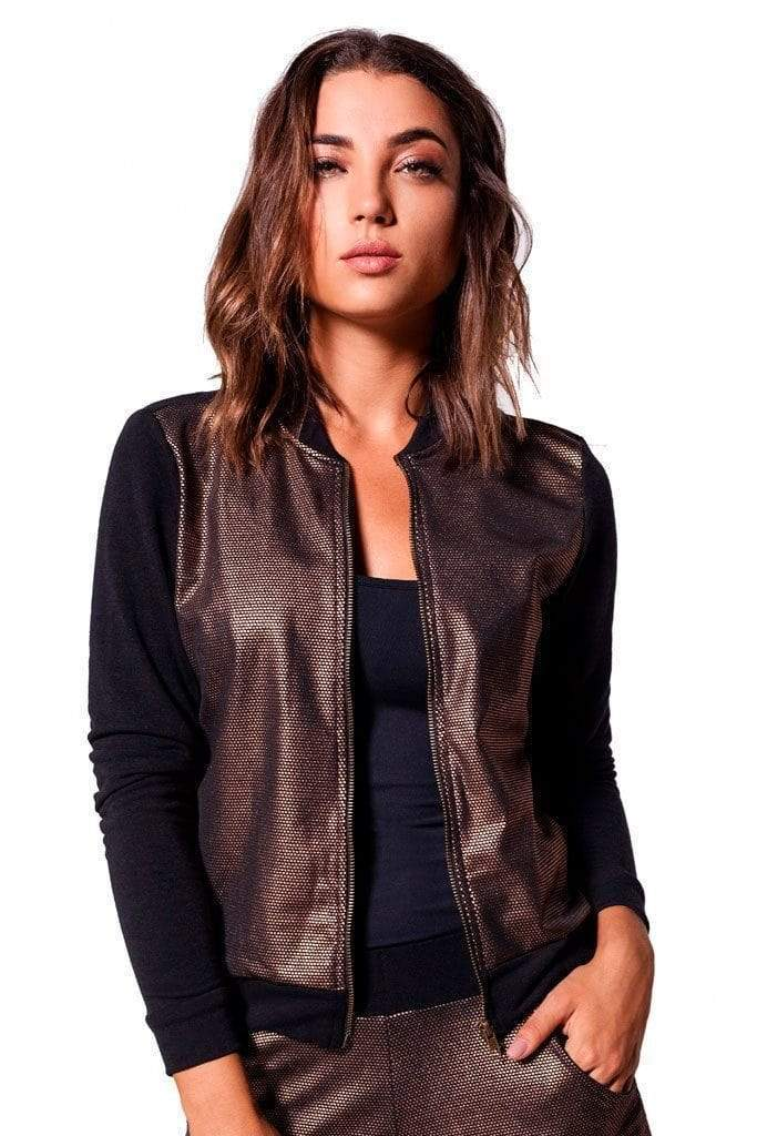 Energy Foil Bomber Jacket - Sam's Fitness Goods
