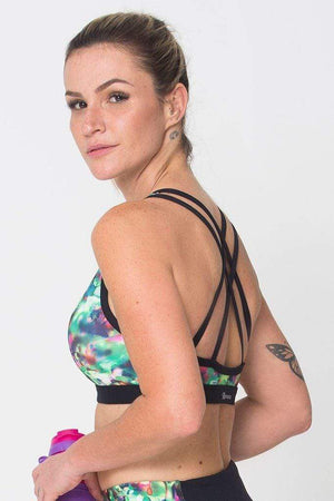Energy Green Sports Bra - Sam's Fitness Goods