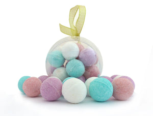 Get Fizzy With It - Ornament Fizzy Bath Bombs - Sam's Fitness Goods