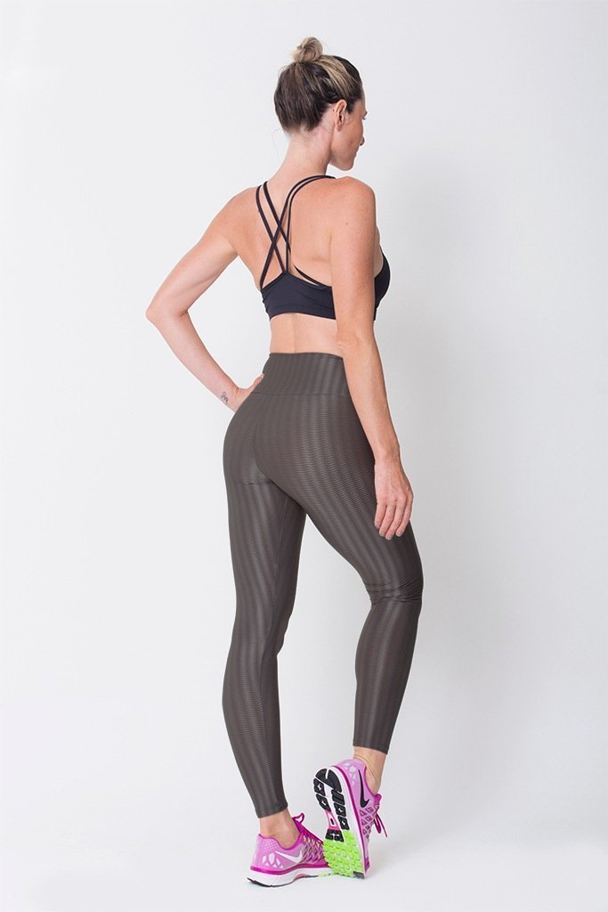 Graphite 3D Disco Leggings - Sam's Fitness Goods