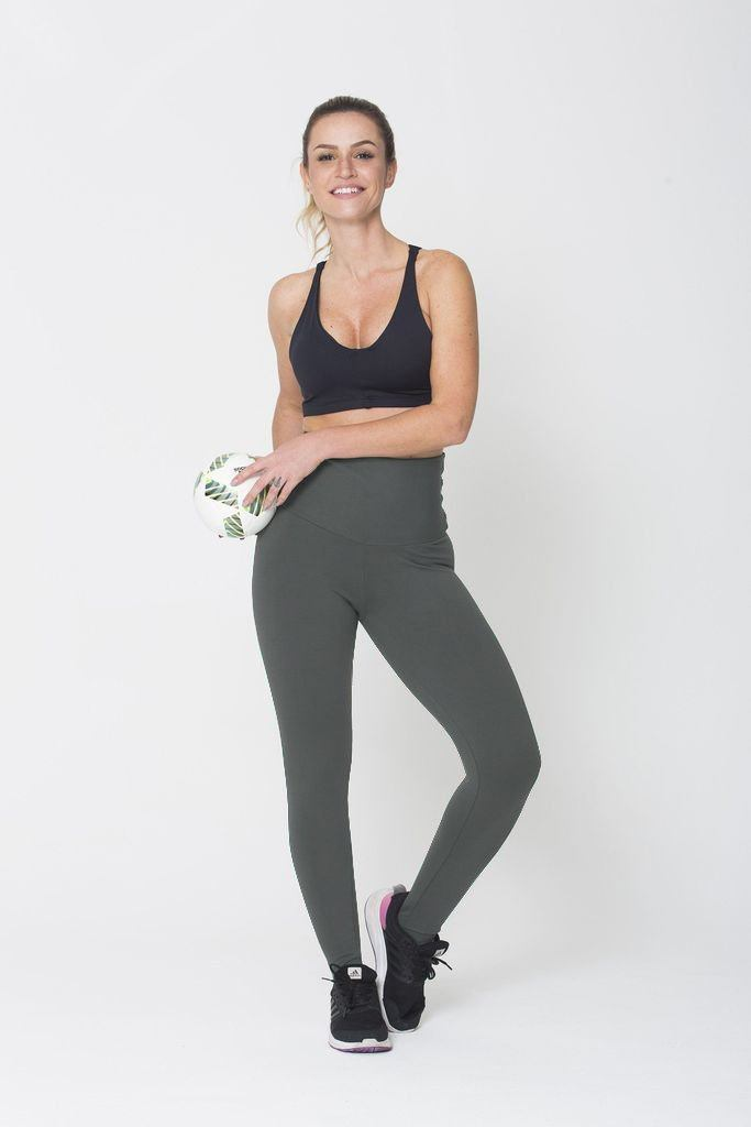 Graphite High Up Legging - Sam's Fitness Goods