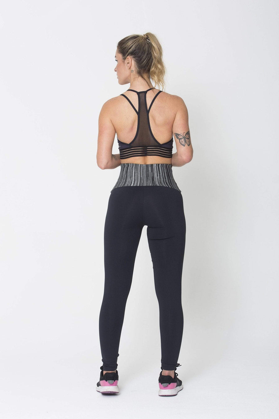 Grey Waist Legging - Sam's Fitness Goods