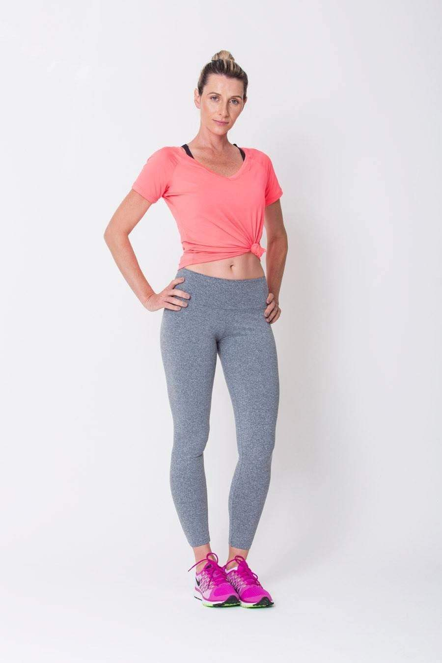 Heather Grey Active Legging - Sam's Fitness Goods