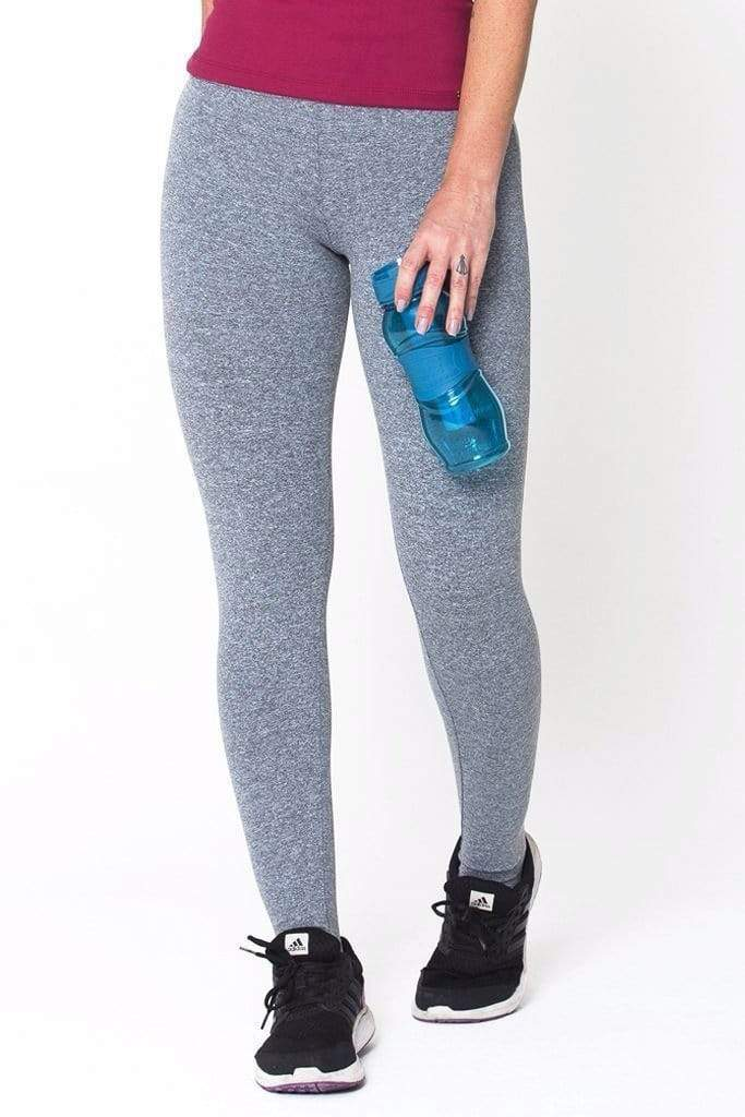 Heather Grey Essential Legging - Sam's Fitness Goods