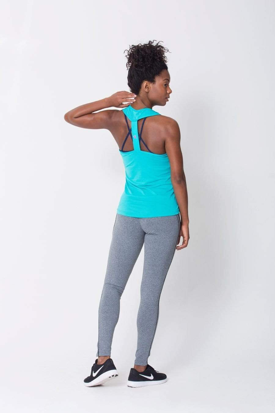 Heather Grey Viva Legging - Sam's Fitness Goods