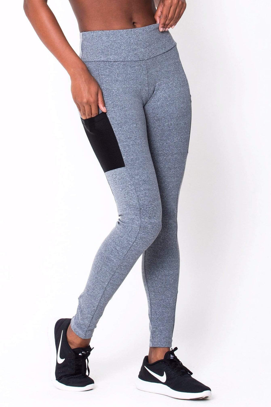 Heather Grey Work It Legging - Sam's Fitness Goods