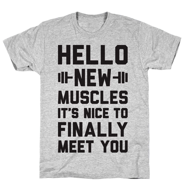 Hello New Muscles - Sam's Fitness Goods