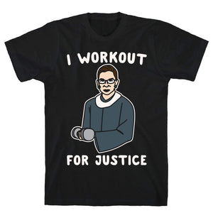 I Workout For Justice - Sam's Fitness Goods